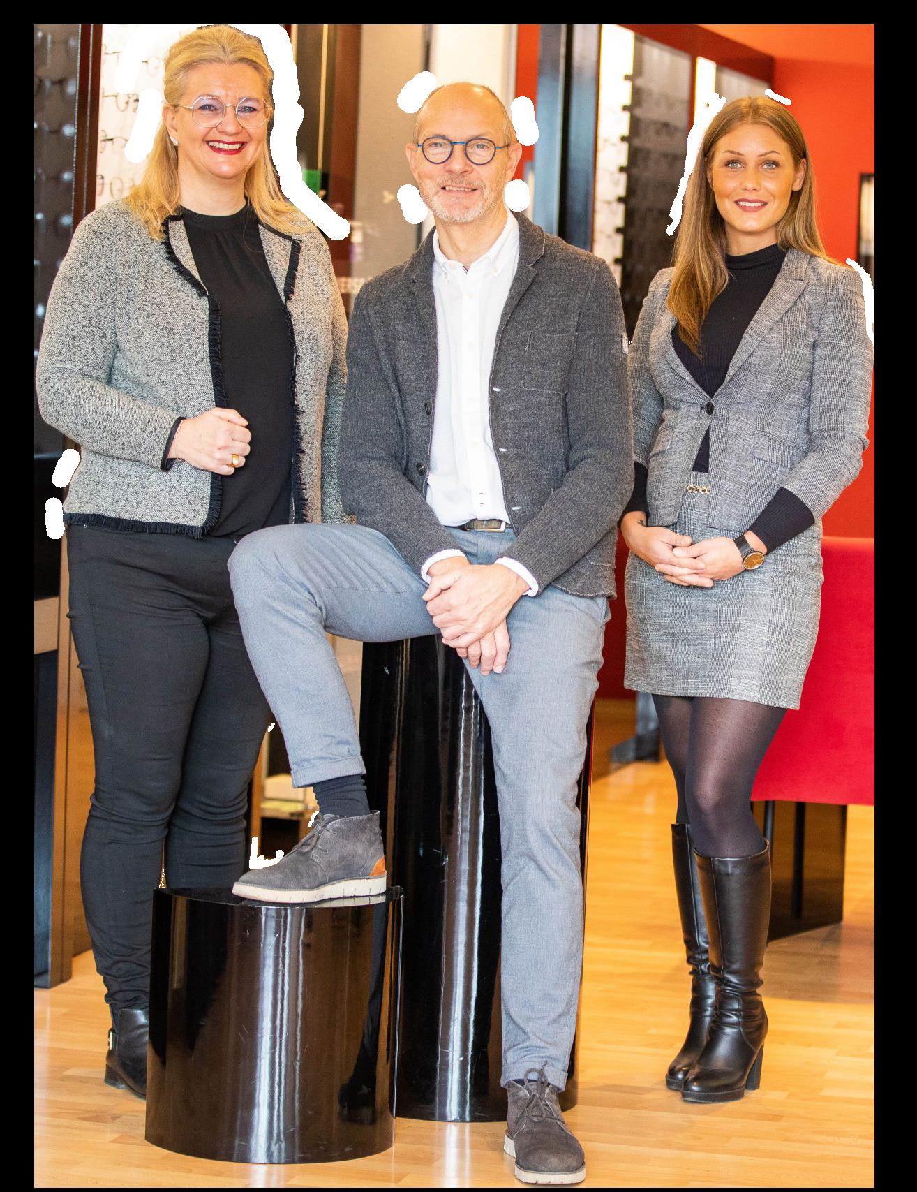 Das Team von DIE BRILLE in Velbert